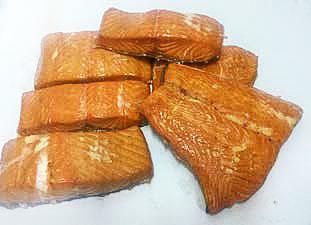 stek z łososia